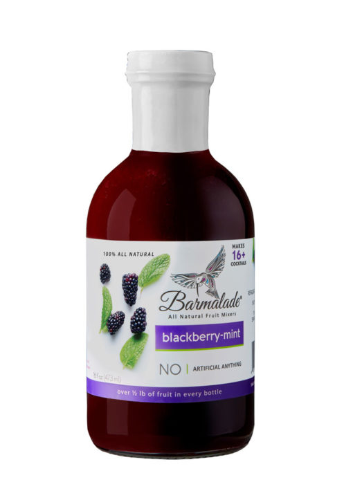 Blackberry-Mint Barmalade Bottle
